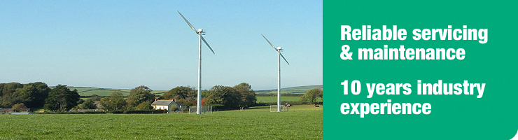 Reliable wind turbine servicing & maintenance. 10 years industry experience.