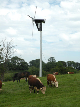 A wind turbine for your domestic energy requirement